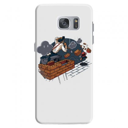 Toadstool Construction Samsung Galaxy S7 Case Designed By Dameart