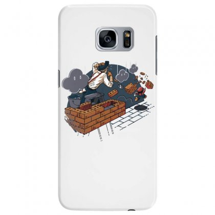 Toadstool Construction Samsung Galaxy S7 Edge Case Designed By Dameart