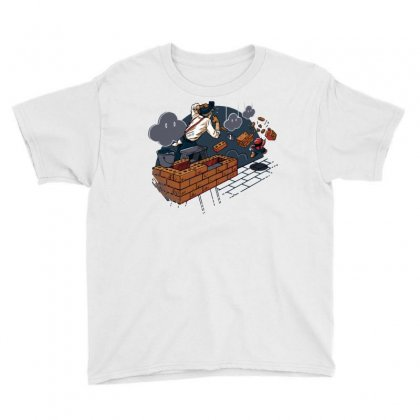 Toadstool Construction Youth Tee Designed By Dameart