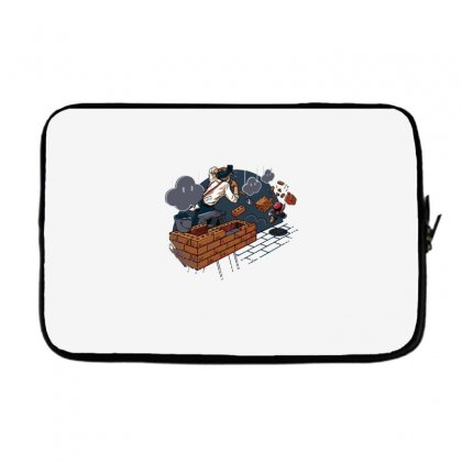 Toadstool Construction Laptop Sleeve Designed By Dameart