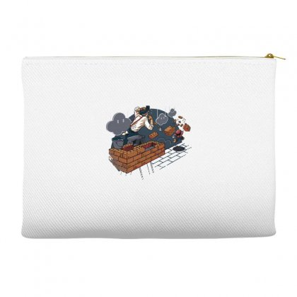 Toadstool Construction Accessory Pouches Designed By Dameart