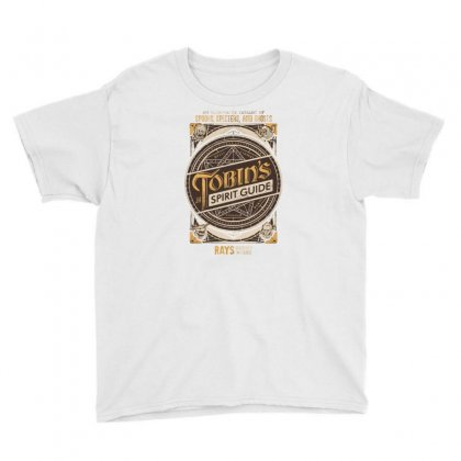 Tobin's Spirit Guide Youth Tee Designed By Dameart