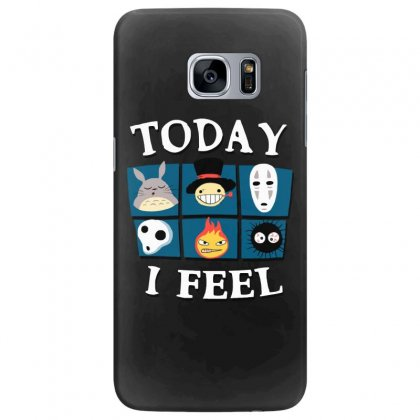 Today I Feel Samsung Galaxy S7 Edge Case Designed By Dameart