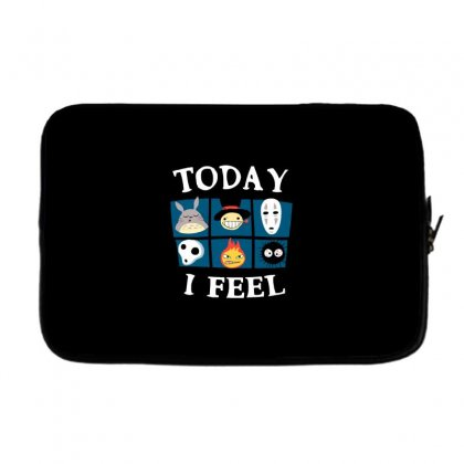 Today I Feel Laptop Sleeve Designed By Dameart