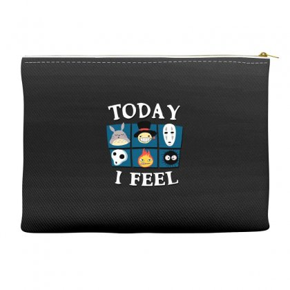 Today I Feel Accessory Pouches Designed By Dameart