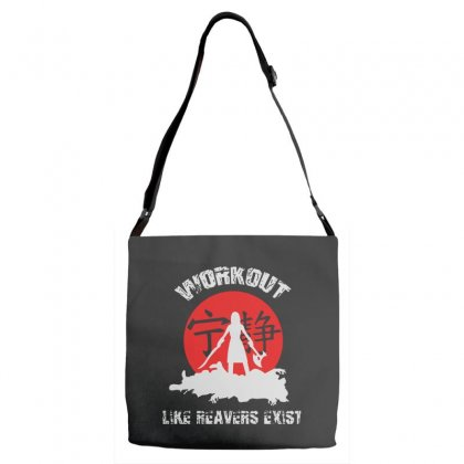 Workout   Like Reavers Exist Adjustable Strap Totes Designed By Rodgergise