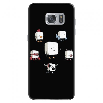 Tofu, Food's Master Of Disguise Samsung Galaxy S7 Case Designed By Dameart