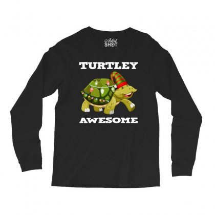 Chirsmas Turtley Awesome Long Sleeve Shirts Designed By Alparslan