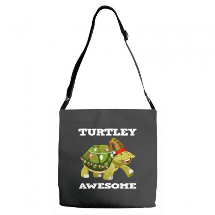 Chirsmas Turtley Awesome Adjustable Strap Totes Designed By Alparslan