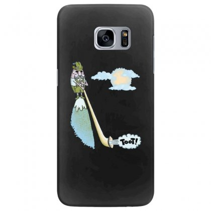 Tooting Your Own Horn Samsung Galaxy S7 Edge Case Designed By Dameart