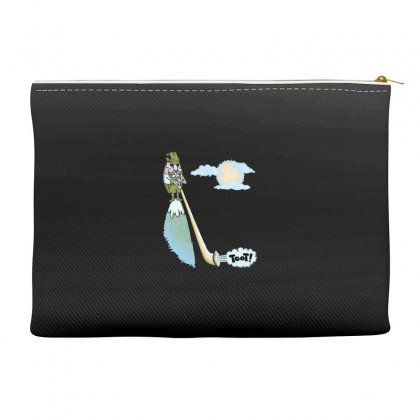 Tooting Your Own Horn Accessory Pouches Designed By Dameart