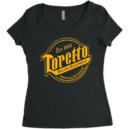 Toretto Racing Women's Triblend Scoop T-shirt Designed By Dameart