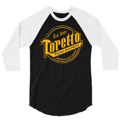 Toretto Racing 3/4 Sleeve Shirt Designed By Dameart