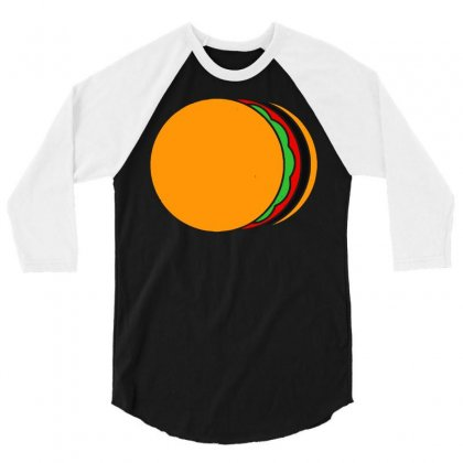 Total Eclipse Of The Bun 3/4 Sleeve Shirt Designed By Dameart