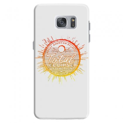 Total Eclipse Of The Sun Samsung Galaxy S7 Case Designed By Dameart