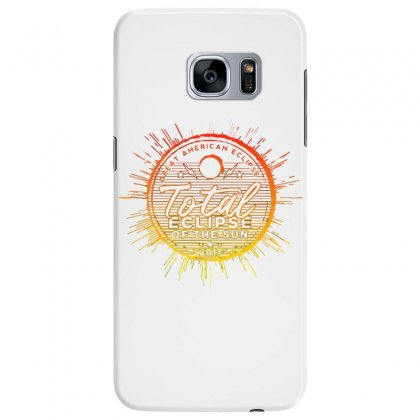 Total Eclipse Of The Sun Samsung Galaxy S7 Edge Case Designed By Dameart