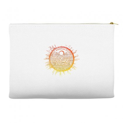 Total Eclipse Of The Sun Accessory Pouches Designed By Dameart