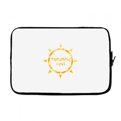 Totality Rad Laptop Sleeve Designed By Dameart