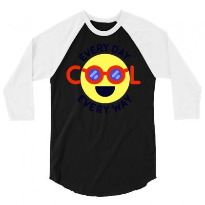Totally Cool 3/4 Sleeve Shirt Designed By Dameart