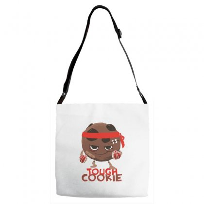 Tough Cookie Adjustable Strap Totes Designed By Dameart