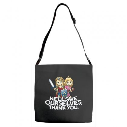 Tough Princesses Adjustable Strap Totes Designed By Dameart