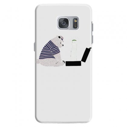 Tourist Bear Visits Italy Samsung Galaxy S7 Case Designed By Dameart