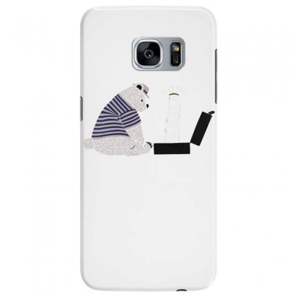 Tourist Bear Visits Italy Samsung Galaxy S7 Edge Case Designed By Dameart