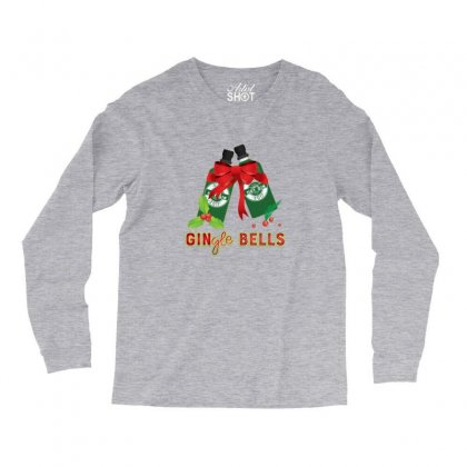 Gingle Bells Funny Merry Christmas Drinking Long Sleeve Shirts Designed By Sr88