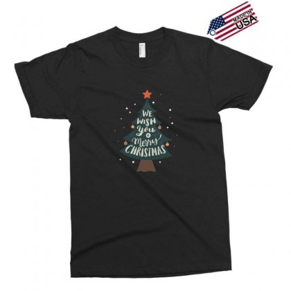We Wish You Merry Christmas Tree Exclusive T-shirt Designed By Sr88