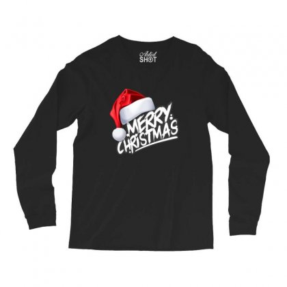 Merry Christmas Long Sleeve Shirts Designed By Sr88