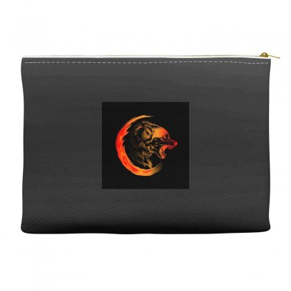 Amoled Wolf Accessory Pouches Designed By Itsjvs