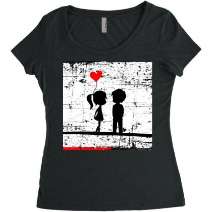 Sss Women's Triblend Scoop T-shirt Designed By Itsjvs