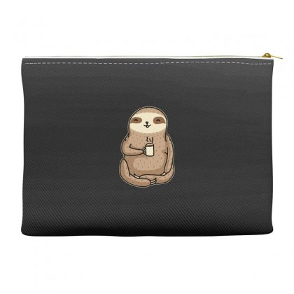Coffee Sloth Accessory Pouches Designed By B4en1