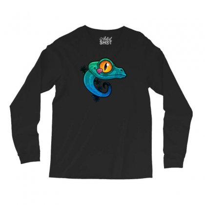 Colorful Gecko Long Sleeve Shirts Designed By B4en1