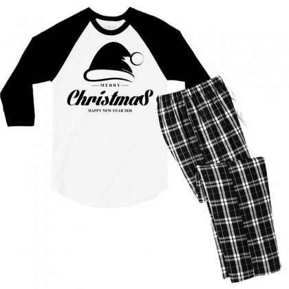 Christmas 2020 Men's 3/4 Sleeve Pajama Set Designed By Gareng