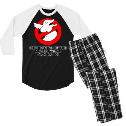Conductors Of The Metaphysical Examination Men's 3/4 Sleeve Pajama Set Designed By B4en1