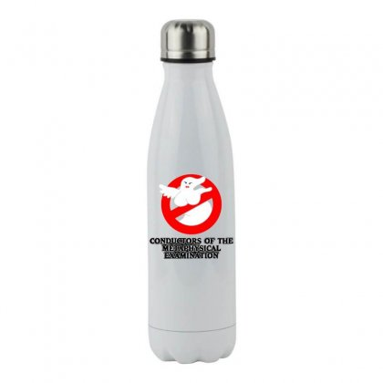 Conductors Of The Metaphysical Examination Stainless Steel Water Bottle Designed By B4en1