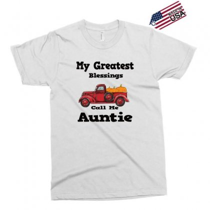 My Greatest Blessings Call Me Auntie Pumpkin Thanksgiving Exclusive T-shirt Designed By Alparslan