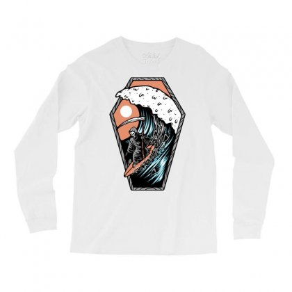 Surf Till Die Long Sleeve Shirts Designed By Quilimo