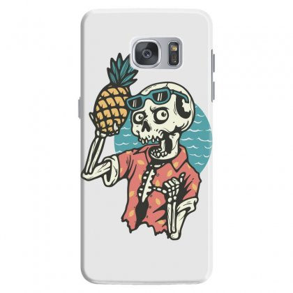 Pineapple Lover Samsung Galaxy S7 Case Designed By Quilimo