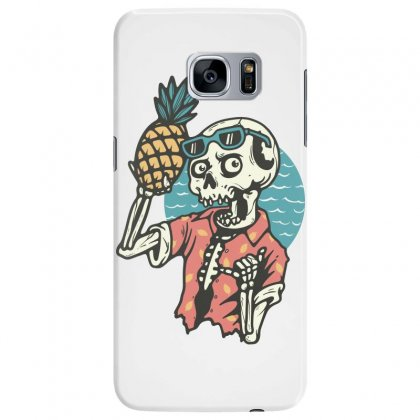 Pineapple Lover Samsung Galaxy S7 Edge Case Designed By Quilimo