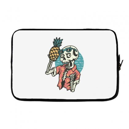 Pineapple Lover Laptop Sleeve Designed By Quilimo