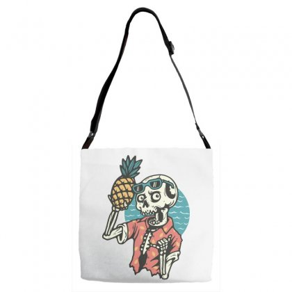 Pineapple Lover Adjustable Strap Totes Designed By Quilimo