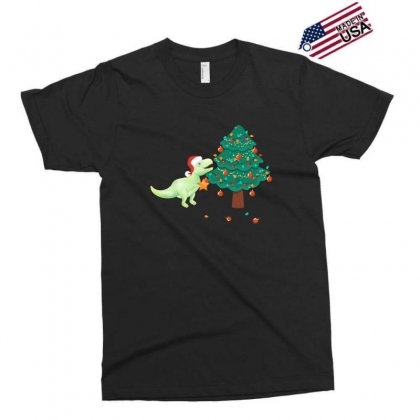 Christmas Trex Green Exclusive T-shirt Designed By Hasret