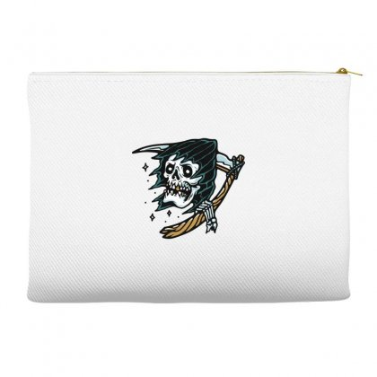 Grim Reaper Tattoo Accessory Pouches Designed By Quilimo