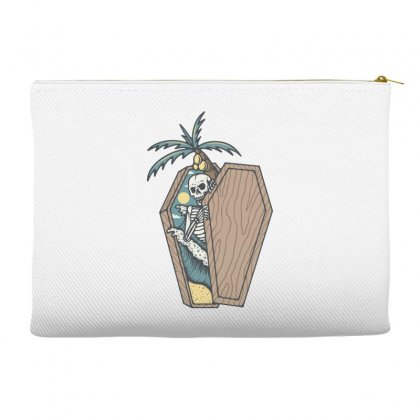 Rest In Paradise Accessory Pouches Designed By Quilimo