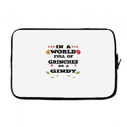 In A World Full Of Grinches Laptop Sleeve Designed By Alparslan
