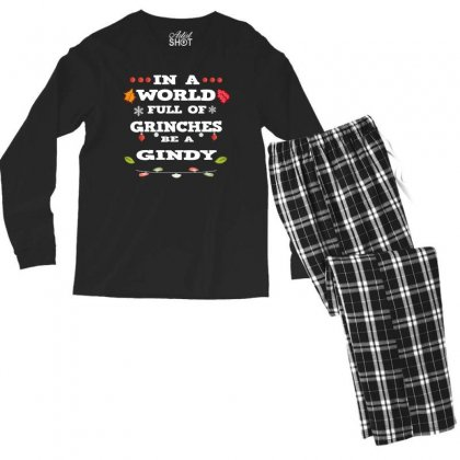In A World Full Of Grinches Men's Long Sleeve Pajama Set Designed By Alparslan
