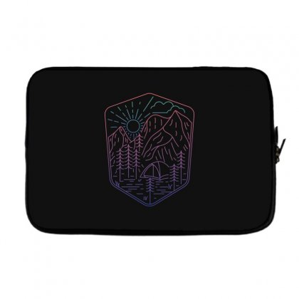 Great Journey Laptop Sleeve Designed By Quilimo