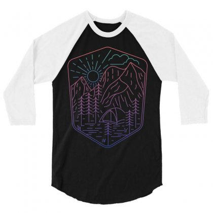 Great Journey 3/4 Sleeve Shirt Designed By Quilimo